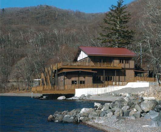 中禅寺湖ボートハウス